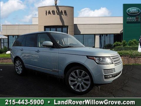 Certified Pre-Owned 2015 Land Rover Range Rover HSE With Navigation & 4WD