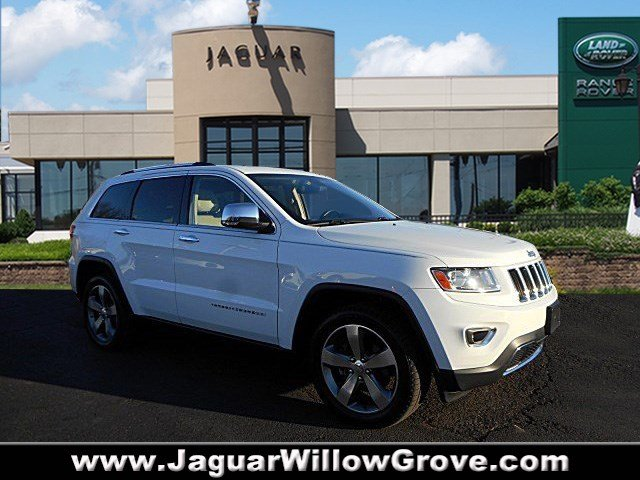 pre owned 2014 jeep grand cherokee limited sport utility in willow grove p5176 land rover. Black Bedroom Furniture Sets. Home Design Ideas