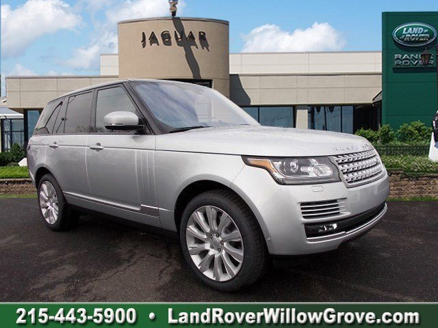 New 2016 Land Rover Range Rover Supercharged With Navigation & 4WD